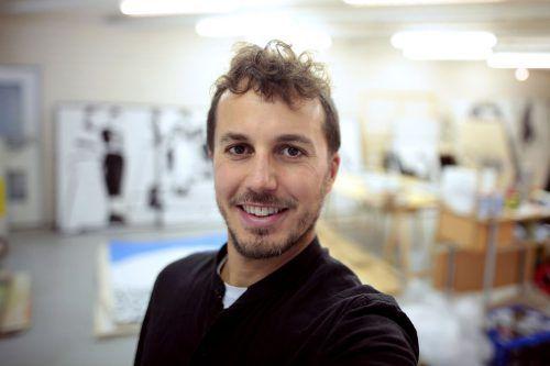 Tom Vau ist in seiner Kunst ein multimedialer Ansatz wichtig. BI
