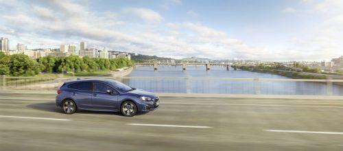 Trotz kleinvolumigen Aggregats ist der Subaru Impreza mit Allradantrieb ausgerüstet. Der 1,6-Liter-Boxer mit 114 PS ist an ein CVT-Getriebe gekoppelt.