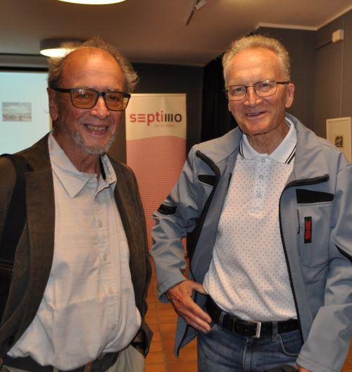 Unter den Gästen: Franz Rüdisser (l.) und Wilfried Dür.