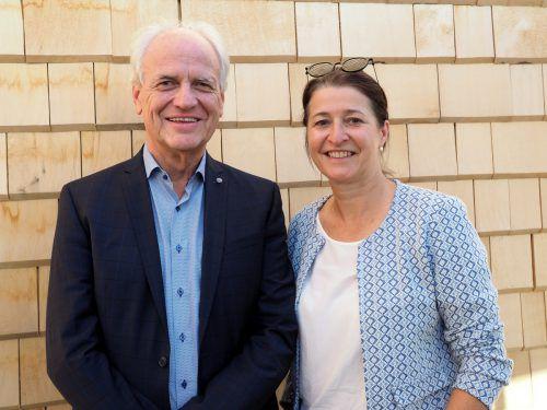 Versicherungsmakler Peter Kollmann und Rechtsanwältin Nadja Luger.
