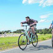 Fahrradtour um die Seen