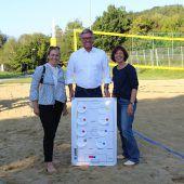 Tisner Beachvolleyballplatz eröffnet