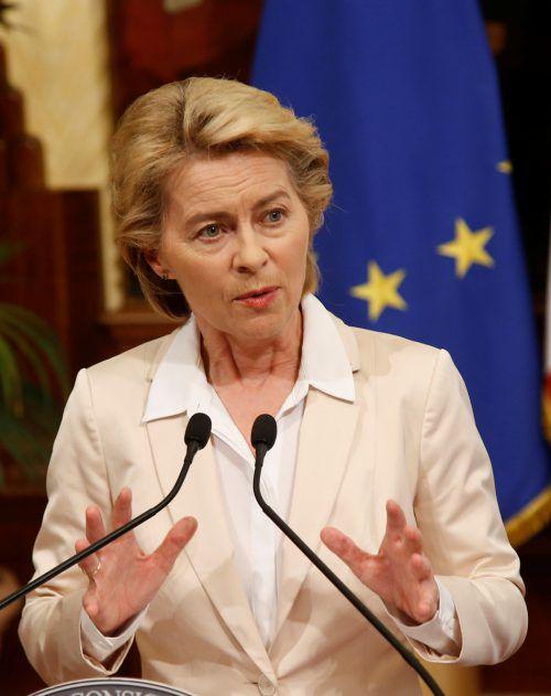 Von der Leyens Kommission als Ganzes muss noch das EU-Parlament zustimmen. reuters