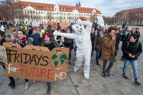 Vorarlbergs SP unterstützt Klimademonstrationen. apa