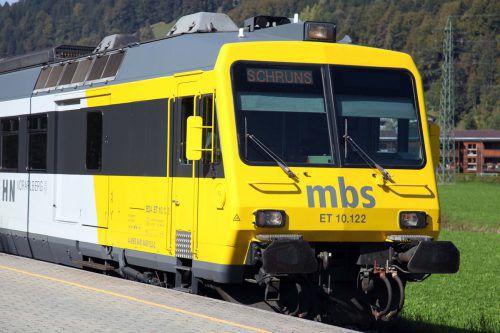 Ab kommendem Jahr sollten Fahrscheine für die Montafonerbahn vor Fahrtantritt an den neuen Ticket-Automaten gekauft werden.mbs
