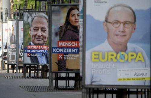 Wer bei der EU-Wahl im Mai erfolgreich war, bekommt mehr Geld. APA