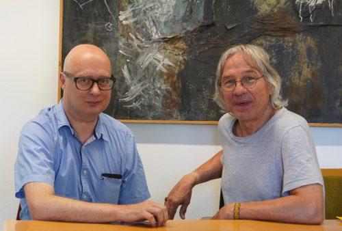 Ziel der Initiatoren Dietmar Kirchner (l.) und Wolfgang W. Lindner ist die längerfristige Befassung mit dem Publikum von morgen. Silvia Thurner