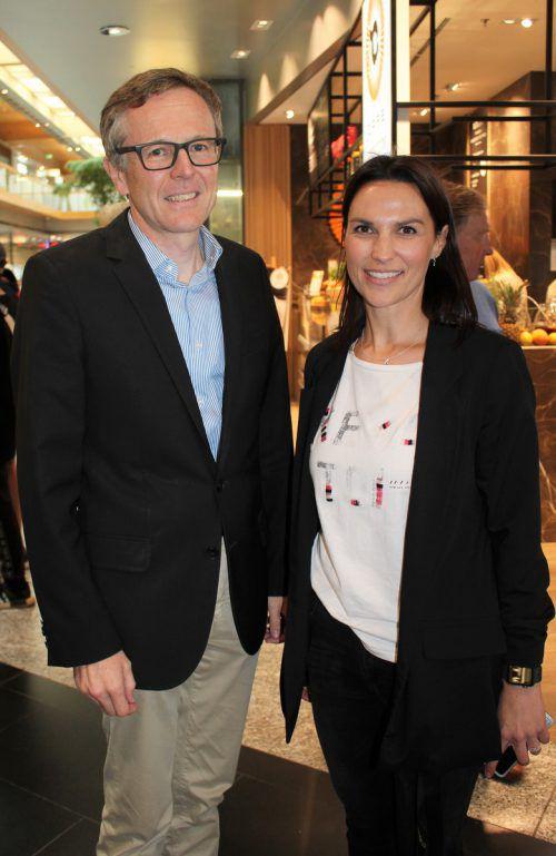 Zimbapark-Manager Walter Simma und Marketing-Lady Kathrin Mair.