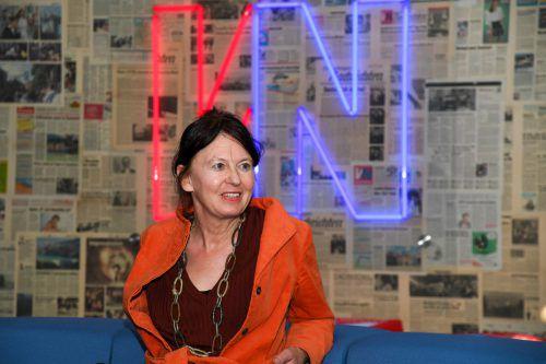 Zukunftsforscherin Karin Frick sprach auf Einladung der Wirtschaftskammer über die Zukunft des Handels. VN/Lerch