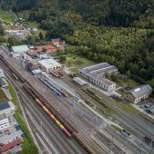 Feldkirch kauft alte ÖBB-Lehrwerkstätte