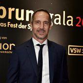 Adi Hütter erhielt den Bruno-Ehrenpreis