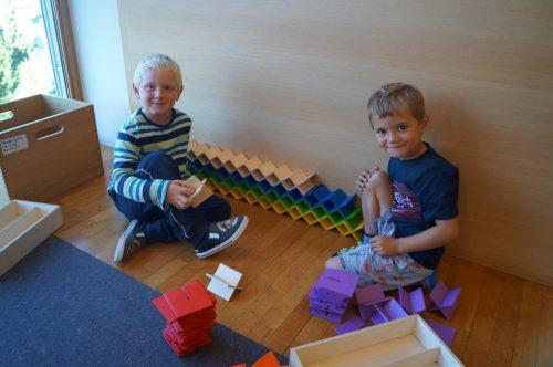 Ankommen, eingewöhnen und Regeln für den Umgang miteinander kennenlernen stand in den ersten Wochen auf der Tagesordnung.Kindergarten Übersaxen