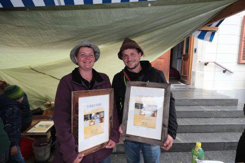 Antje Lüdecke und Michael Reisinger (Alpe Lün).