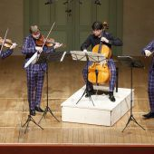 Apollon-Musagète-Quartett enthusiastisch gefeiert