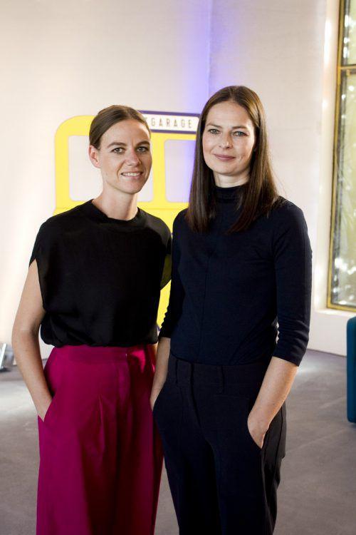 Architektinnen Nora Heinzle (l.) und Anja Innauer (Nona).