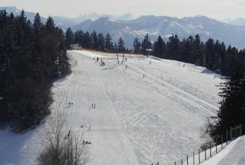 Am Pfänder werden die Skilifte abgebaut, weil sich der Betrieb nicht mehr rentiert.