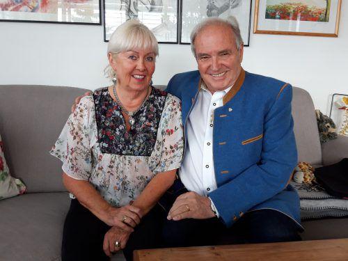 Auf ein erfolgreiches und glückliches Leben blicken Rösle und Hans Hammerer zurück. K. Lässer