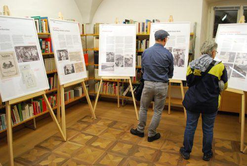 Auf großes Interesse der Besucher stieß auch die Präsentation des Stadtarchivs. erh