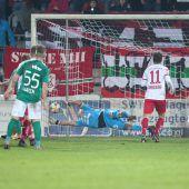 Austria Lustenau verliert erstmals unter Mählich