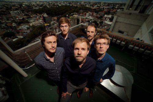 """""""Barry Good"""", die Band rund um Lukas Schiemer, präsentiert kommende Woche das neue Album """"Sendezeit"""". band"""