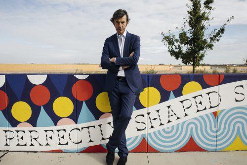 """""""Beautification"""" heißt das Projekt, das Street-Art-Künstler nach Vorgaben von Stefan Sagmeister in Wien umsetzten. apa, Tesarek"""