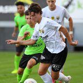 Altachs Juniors gegen FC Wolfurt bereits unter Druck
