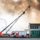 Explosion in Entsorgungsfirma