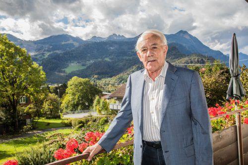 Bertram Jäger (90) in seinem Heim in Bludenz. VN/Steurer