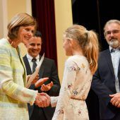 Sponsionsfeier für Absolventen der Kinderuni Vorarlberg