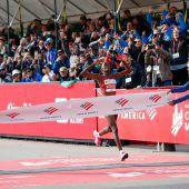 Kosgei lief in Chicago Weltrekord