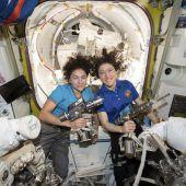 Meilenstein in Raumfahrt: Erster ISS-Außeneinsatz nur mit Frauen