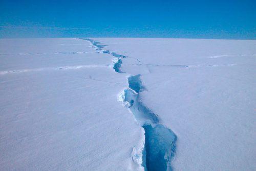 Das Amery-Schelfeis ist das drittgrößte Schelfeis der Antarktis. AFP