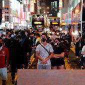 Hongkongs Regierung nutzt Notstandsrecht