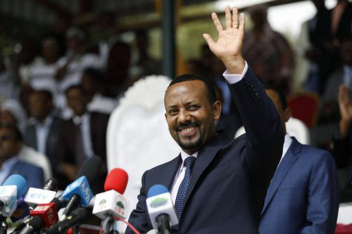 Der 43-jährige Abiy gilt am Horn von Afrika als Reformer. Als sein größter Erfolg gilt das äthiopisch-eritreische Abkommen von 2018.AFP