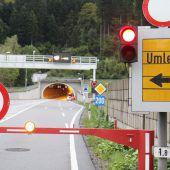 Achraintunnel wird gereinigt