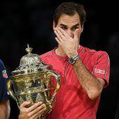 Federer holt zehnten Titel in Basel