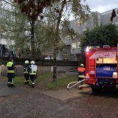 Bregenz: Brennende Kerze führte zu Großeinsatz