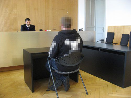 Der junge Mann zeigte sich vor Gericht geständig und reumütig.eckert