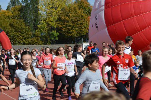 Der Lauf für Afrika findet am 18. Oktober statt.