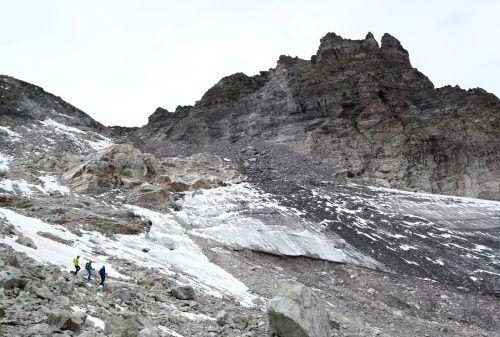 Der Pizolgletscher wurde bereits aus dem Gletschermessnetz gestrichen. rts