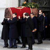 Diktator Franco aus dem Grab geholt