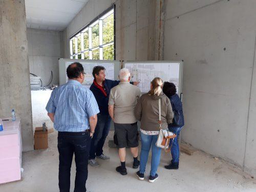 Die Anrainer wurden in einer eigenen Informationsveranstaltung über die geplanten Umbaumaßnahmen in Kenntnis gesetzt.Stadt