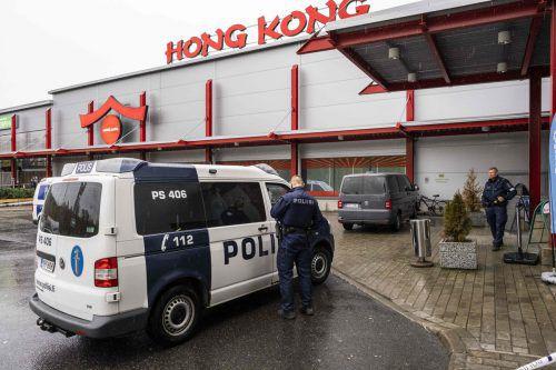 Die Berufsschule befand sich in einem Einkaufszentrum. AFP