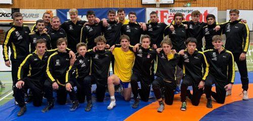 Die Bundesligamannschaft des KSK Klaus konnte über einen Derbysieg jubeln.ksk klaus
