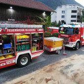 Dieselaustritt in Bludenzer Brauerei