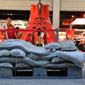 Supertaifun bremst die Formel 1