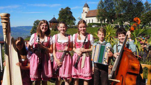 Die Frechdachs Musigder Musikschule Dornbirn.