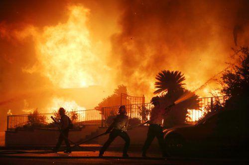 Die Lage in den Brandgebieten hat sich zwischenzeitlich leicht entspannt. AFP