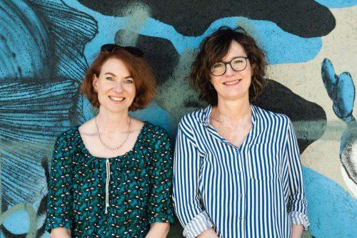 Die Lesung mit Simone Meier und Doris Knecht wird bestimmt lustig und spannend.meier+knecht/privat