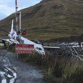 Flugzeug in Alaska bei Landung verunglückt